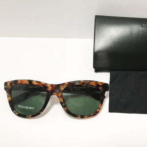 Saint Laurent Womens Tortoise Sunglasses YSL2352/S